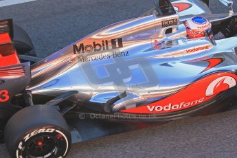 © 2012 Octane Photographic Ltd. Barcelona Winter Test 1 Day 3 - Thursday 23rd February 2012. McLaren MP4/27 - Jenson Button. Digital Ref : 0228cb1d9698