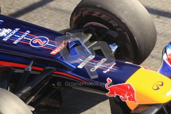 © 2012 Octane Photographic Ltd. Barcelona Winter Test 1 Day 3 - Thursday 23rd February 2012. Red Bull RB8 - Mark Webber. Digital Ref : 0228cb1d9755