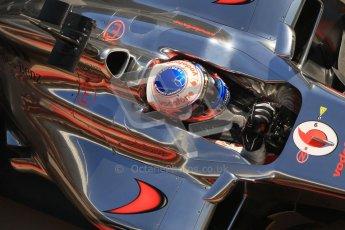 © 2012 Octane Photographic Ltd. Barcelona Winter Test 1 Day 3 - Thursday 23rd February 2012. McLaren MP4/27 - Jenson Button. Digital Ref : 0228cb1d9839
