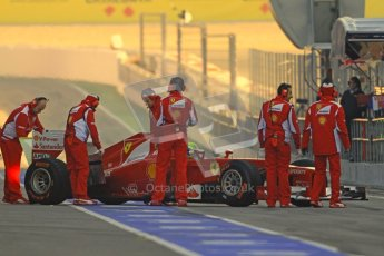 © 2012 Octane Photographic Ltd. Barcelona Winter Test 1 Day 3 - Thursday 23rd February 2012. Ferrari F2012 - Felipe Massa. Digital Ref : 0228cb7d6463