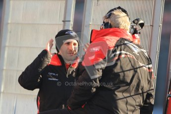 © 2012 Octane Photographic Ltd. Barcelona Winter Test 1 Day 3 - Thursday 23rd February 2012. Marussia MVR02 - Timo Glock. Digital Ref : 0228cb7d6486