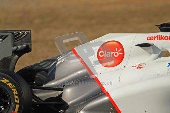 © 2012 Octane Photographic Ltd. Barcelona Winter Test 1 Day 3 - Thursday 23rd February 2012. Sauber C31 - Kamui Kobayashi. Digital Ref : 0228cb7d6722