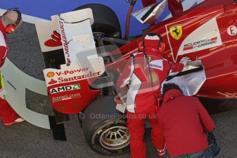 © 2012 Octane Photographic Ltd. Barcelona Winter Test 1 Day 3 - Thursday 23rd February 2012. Ferrari F2012 - Felipe Massa. Digital Ref : 0228lw7d3892