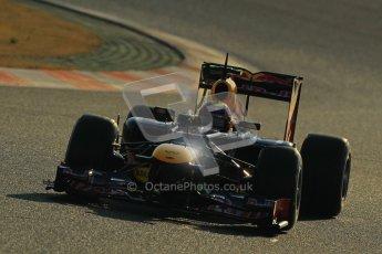 © 2012 Octane Photographic Ltd. Barcelona Winter Test 1 Day 4 - Friday 24th February 2012. Red Bull RB8 - Mark Webber. Digital Ref : 0229cb1d0027