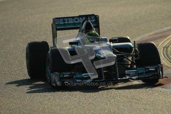 © 2012 Octane Photographic Ltd. Barcelona Winter Test 1 Day 4 - Friday 24th February 2012. Mercedes W03 - Nico Rosberg. Digital Ref : 0229cb1d0081