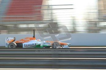 © 2012 Octane Photographic Ltd. Barcelona Winter Test 1 Day 4 - Friday 24th February 2012. Force India VJM05 - Paul di Resta. Digital Ref : 0229cb1d0348