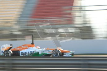 © 2012 Octane Photographic Ltd. Barcelona Winter Test 1 Day 4 - Friday 24th February 2012. Force India VJM05 - Paul di Resta. Digital Ref : 0229cb1d0366