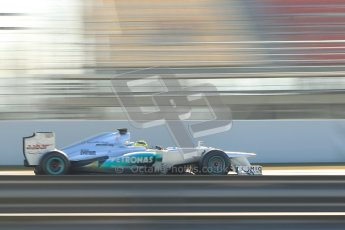 © 2012 Octane Photographic Ltd. Barcelona Winter Test 1 Day 4 - Friday 24th February 2012. Mercedes W03 - Nico Rosberg. Digital Ref : 0229cb1d0429