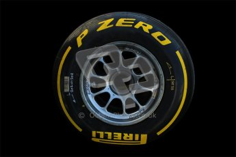 © 2012 Octane Photographic Ltd. Barcelona Winter Test 1 Day 4 - Friday 24th February 2012. Pirelli tyres on Williams wheel rims. Digital Ref : 0229cb1d0465