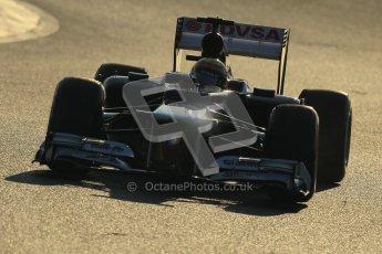 © 2012 Octane Photographic Ltd. Barcelona Winter Test 1 Day 4 - Friday 24th February 2012. Williams FW34 - Pastor Maldonado. Digital Ref : 0229cb1d9913