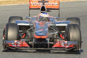 © 2012 Octane Photographic Ltd. Barcelona Winter Test 1 Day 4 - Friday 24th February 2012. McLaren MP4/27 - Jenson Button. Digital Ref : 0229cb7d6902