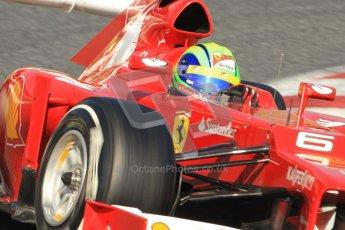 © 2012 Octane Photographic Ltd. Barcelona Winter Test 1 Day 4 - Friday 24th February 2012. Ferrari F2012 - Felipe Massa. Digital Ref : 0229cb7d6916