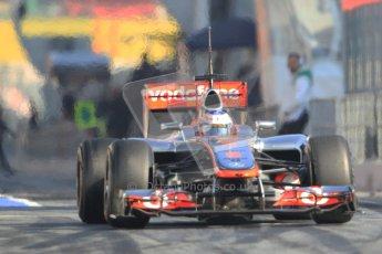 © 2012 Octane Photographic Ltd. Barcelona Winter Test 1 Day 4 - Friday 24th February 2012. McLaren MP4/27 - Jenson Button. Digital Ref : 0229cb7d7030