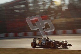 © 2012 Octane Photographic Ltd. Barcelona Winter Test 1 Day 4 - Friday 24th February 2012. Caterham CT01 - Heikki Kovalainen. Digital Ref : 0229lw7d4794