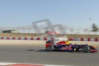 © 2012 Octane Photographic Ltd. Barcelona Winter Test 1 Day 4 - Friday 24th February 2012. Red Bull RB8 - Mark Webber. Digital Ref : 0229lw7d4986