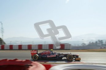 © 2012 Octane Photographic Ltd. Barcelona Winter Test 1 Day 4 - Friday 24th February 2012. Toro Rosso STR7 - Jean-Eric Vergne. Digital Ref : 0229lw7d5035