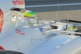 © 2012 Octane Photographic Ltd. Barcelona Winter Test 2 Day 1 - Thursday 1st March 2012. Sauber C31 - Sergio Perez. Digital Ref : 0231cb1d1779