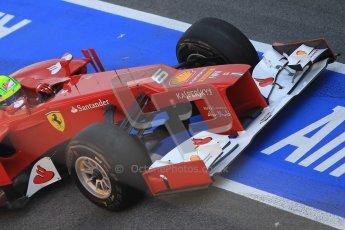 © 2012 Octane Photographic Ltd. Barcelona Winter Test 2 Day 1 - Thursday 1st March 2012. Ferrari F2012 - Felipe Massa. Digital Ref : 0231cb1d1933