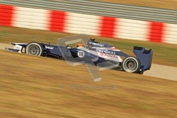 © 2012 Octane Photographic Ltd. Barcelona Winter Test 2 Day 1 - Thursday 24th March 2012. Williams FW34 - Pastor Maldonado. Digital Ref : 0231cb1d2187