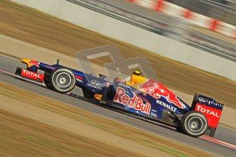 © 2012 Octane Photographic Ltd. Barcelona Winter Test 2 Day 1 - Thursday 1st March 2012. Red Bull RB8 - Mark Webber. Digital Ref : 0231cb1d2198