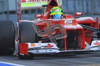 © 2012 Octane Photographic Ltd. Barcelona Winter Test 2 Day 1 - Thursday 1st March 2012. Ferrari F2012 - Felipe Massa. Digital Ref : 0231cb7d7661