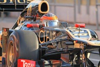 © 2012 Octane Photographic Ltd. Barcelona Winter Test 2 Day 1 - Thursday 1st March 2012. Lotus E20 - Romain Grosjean. Digital Ref : 0231cb7d7669