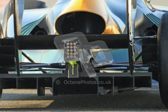 © 2012 Octane Photographic Ltd. Barcelona Winter Test 2 Day 1 - Thursday 1st March 2012. Caterham CT01 - Vitaly Petrov. Digital Ref : 0231cb7d7718