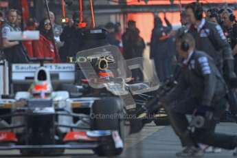 © 2012 Octane Photographic Ltd. Barcelona Winter Test 2 Day 1 - Thursday 1st March 2012. Sauber C31 - Sergio Perez. Digital Ref : 0231cb7d7786