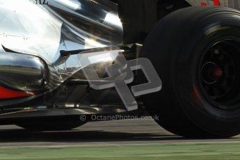 © 2012 Octane Photographic Ltd. Barcelona Winter Test 2 Day 1 - Thursday 1st March 2012. McLaren MP4/27 - Jenson Button. Digital Ref : 0231cb7d7990