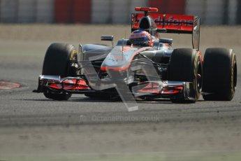 © 2012 Octane Photographic Ltd. Barcelona Winter Test 2 Day 1 - Thursday 1st March 2012. McLaren MP4/27 - Jenson Button. Digital Ref : 0231cb7d8018