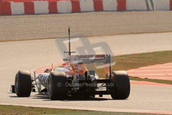 © 2012 Octane Photographic Ltd. Barcelona Winter Test 2 Day 1 - Thursday 24th March 2012. Force India VJM05 - Paul di Resta. Digital Ref : 0231lw7d0150