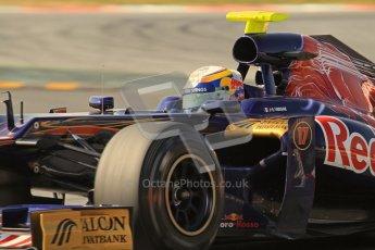 © 2012 Octane Photographic Ltd. Barcelona Winter Test 2 Day 1 - Thursday 24th March 2012. Toro Rosso STR7 - Jean-Eric Vergne. Digital Ref : 0231lw7d0238