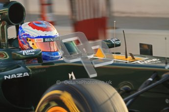 © 2012 Octane Photographic Ltd. Barcelona Winter Test 2 Day 1 - Thursday 1st March 2012. Caterham CT01 - Vitaly Petrov. Digital Ref : 0231lw7d7502