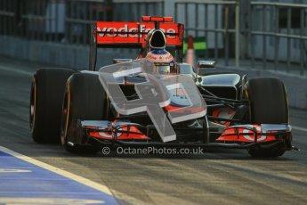 © 2012 Octane Photographic Ltd. Barcelona Winter Test 2 Day 1 - Thursday 1st March 2012. McLaren MP4/27 - Jenson Button. Digital Ref : 0231lw7d7627