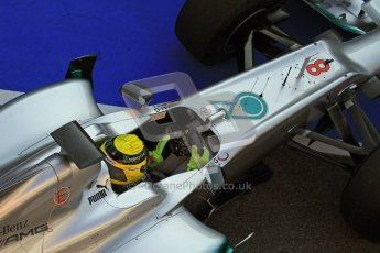 © 2012 Octane Photographic Ltd. Barcelona Winter Test 2 Day 1 - Thursday 1st March 2012. Mercedes W03 - Nico Rosberg. Digital Ref : 0231lw7d8648