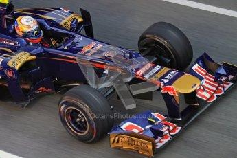 © 2012 Octane Photographic Ltd. Barcelona Winter Test 2 Day 1 - Thursday 24th March 2012. Toro Rosso STR7 - Jean-Eric Vergne. Digital Ref : 0231lw7d8794