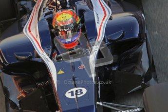 © 2012 Octane Photographic Ltd. Barcelona Winter Test 2 Day 1 - Thursday 1st March 2012. Williams FW34 - Pastor Maldonado. Digital Ref : 0231lw7d8820