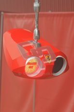 © 2012 Octane Photographic Ltd. Barcelona Winter Test 2 Day 2 - Friday 2nd March 2012. Ferrari's latest version of their traffic light system for pit control. Digital Ref :