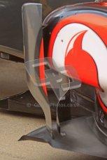 © 2012 Octane Photographic Ltd. Barcelona Winter Test 2 Day 2 - Friday 2nd March 2012. McLaren turning vane details. Digital Ref :