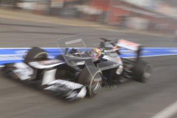 © 2012 Octane Photographic Ltd. Barcelona Winter Test 2 Day 2 - Friday 2nd March 2012. Williams FW34 - Pastor Maldonado. Digital Ref :