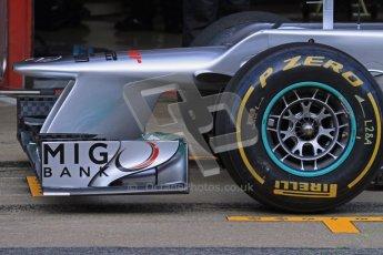 © 2012 Octane Photographic Ltd. Barcelona Winter Test 2 Day 2 - Friday 2nd March 2012. Mercedes W03 - Michael Schumacher. Digital Ref :