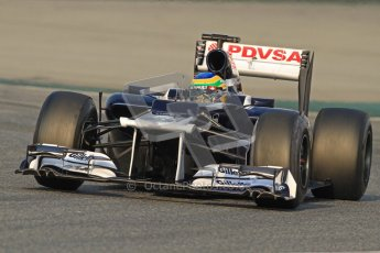 © 2012 Octane Photographic Ltd. Barcelona Winter Test 2 Day 3 - Saturday 3rd March 2012. Williams FW34 - Bruno Senna. Digital Ref : 0233cb7d9146
