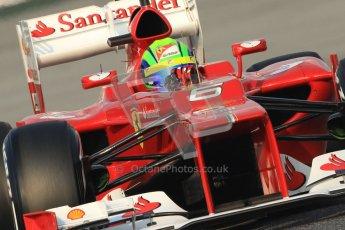 © 2012 Octane Photographic Ltd. Barcelona Winter Test 2 Day 3 - Saturday 3rd March 2012. Ferrari F2012 - Felipe Massa. Digital Ref : 0233cb7d9206