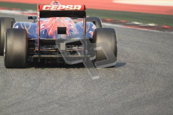 © 2012 Octane Photographic Ltd. Barcelona Winter Test 2 Day 3 - Saturday 3rd March 2012. Toro Rosso STR7 - Daniel Ricciardo. Digital Ref : 0233cb7d9689