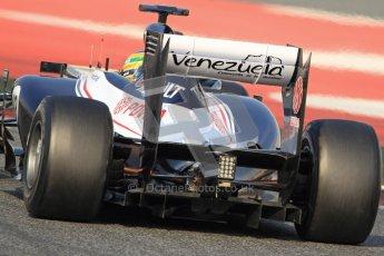 © 2012 Octane Photographic Ltd. Barcelona Winter Test 2 Day 3 - Saturday 3rd March 2012. Williams FW34 - Bruno Senna. Digital Ref : 0233cb7d9739