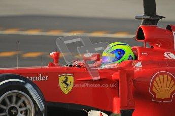 © 2012 Octane Photographic Ltd. Barcelona Winter Test 2 Day 3 - Saturday 3rd March 2012. Ferrari F2012 - Felipe Massa. Digital Ref : 0233lw7d2678