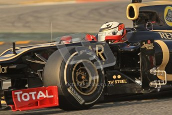 © 2012 Octane Photographic Ltd. Barcelona Winter Test 2 Day 3 - Saturday 3rd March 2012. Lotus E20 - Kimi Raikkonen. Digital Ref : 0233lw7d2888