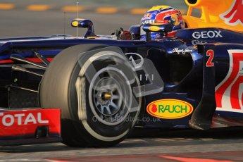© 2012 Octane Photographic Ltd. Barcelona Winter Test 2 Day 3 - Saturday 3rd March 2012. Red Bull RB8 - Mark Webber. Digital Ref : 0233lw7d2940