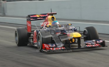 © 2012 Octane Photographic Ltd. Barcelona Winter Test 2 Day 4 - Sunday 4th March 2012. Red Bull RB8 - Sebastian Vettel. Digital Ref : 0234cb1d2790
