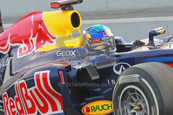© 2012 Octane Photographic Ltd. Barcelona Winter Test 2 Day 4 - Sunday 4th March 2012. Red Bull RB8 - Sebastian Vettel. Digital Ref : 0234cb1d2874